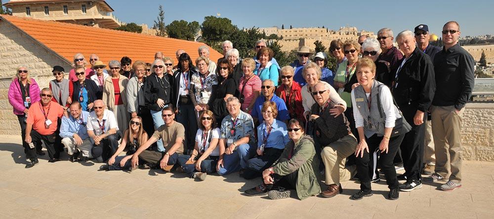 Take a photo in Jerusalem