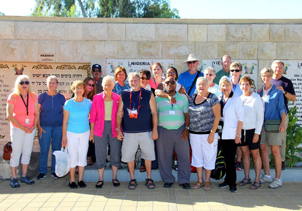 We had a lot of fun hosting this group in Israel