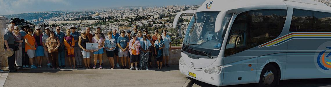Autobus con aire acondicionado Israel