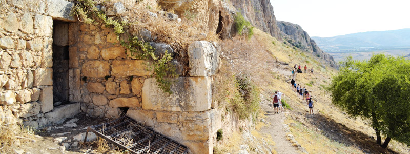 Monte Arbel en Israel