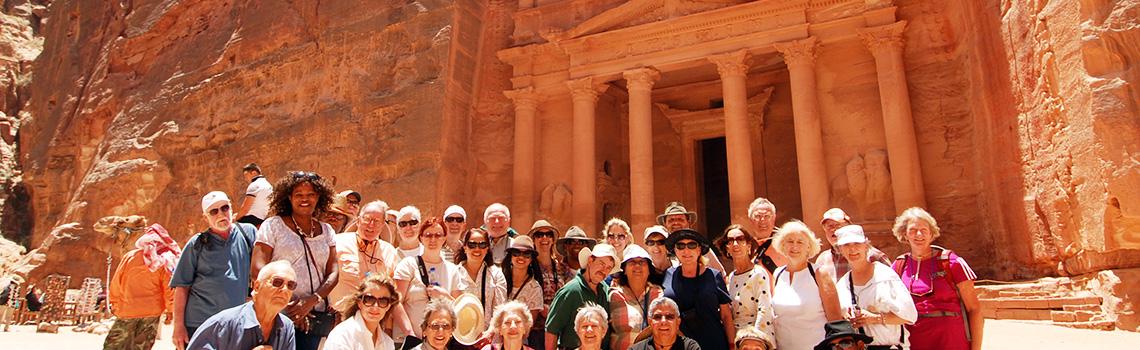 Un foto en Petra