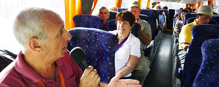 Un autobus durante uno de nuestros tours
