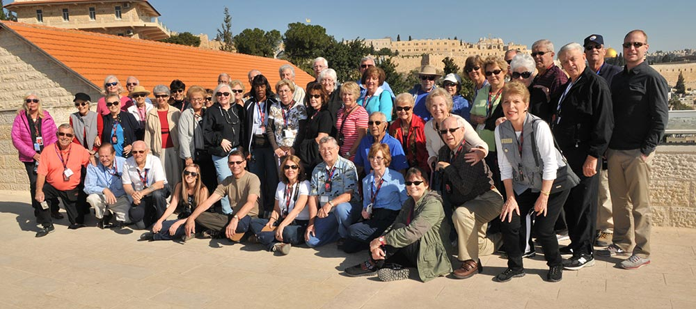 Take a photo in Jerusalem