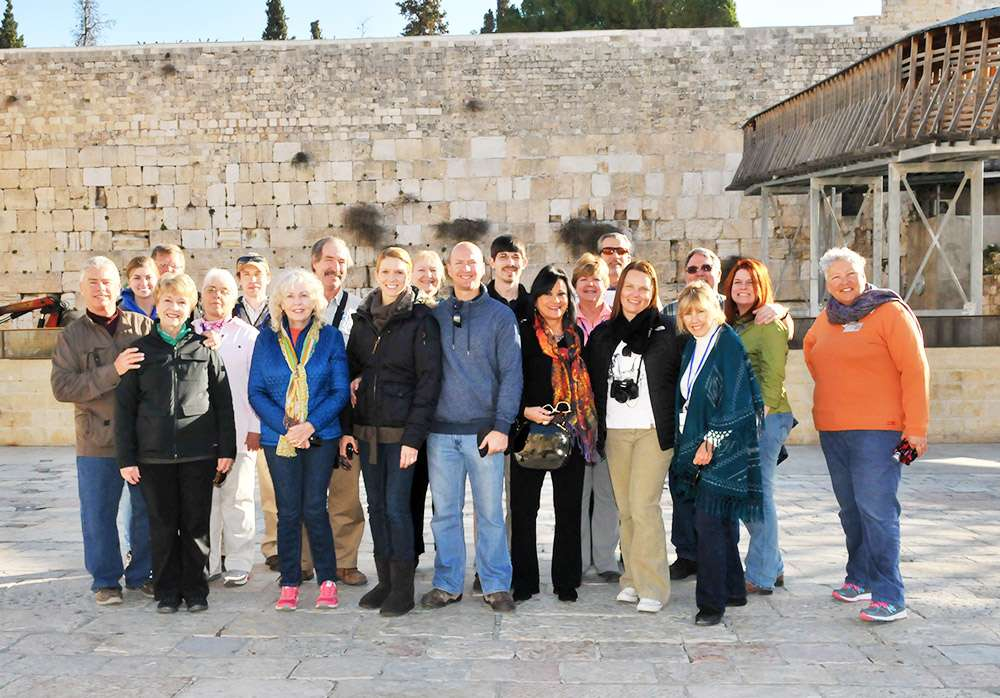 The Western Wall is one of the most important sites in Israel