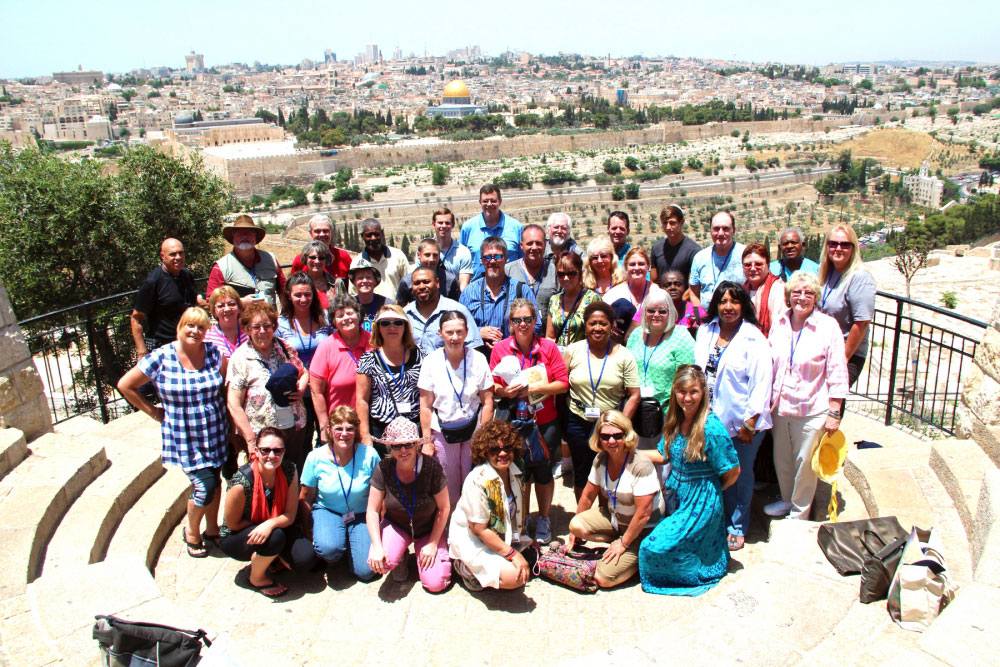 Jerusalem tour group
