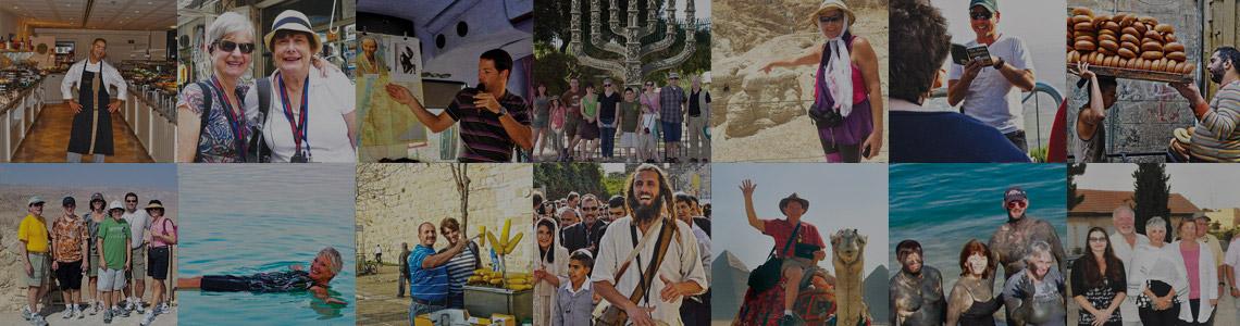 Collage de fotos en Israel