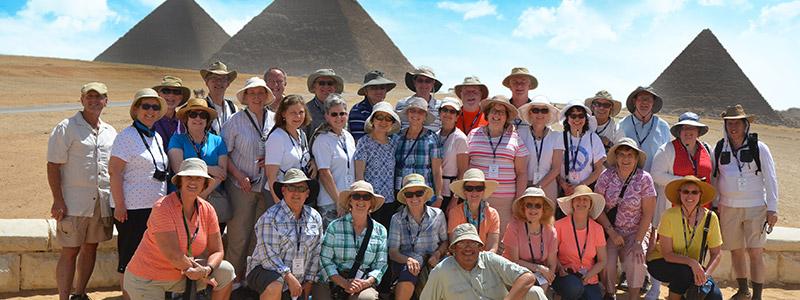 Visita las pirámides de Giza