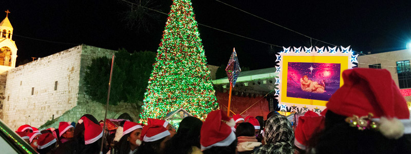 Visit Bethlehem during Christmas