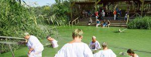 Qasr El Yahud lugar del bautismo