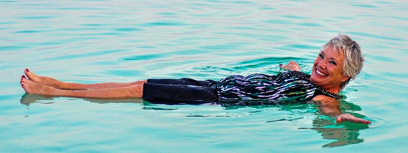 ¿Voy a flotar en el Mar Muerto?
